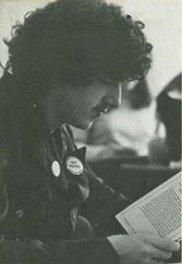 Circa 1975 - Taken at Bedford High School - Photographer unknown.